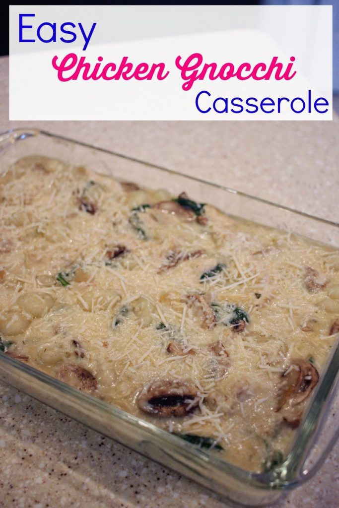 This Chicken Gnocchi Casserole is an easy dish for any day of the week. It''s really easy to make and perfect for those busy moms.
