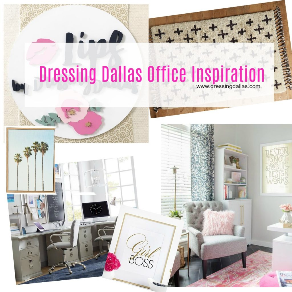 We are redoing our office currently and here is my inspiration! I am in love with bright prints and bold details!