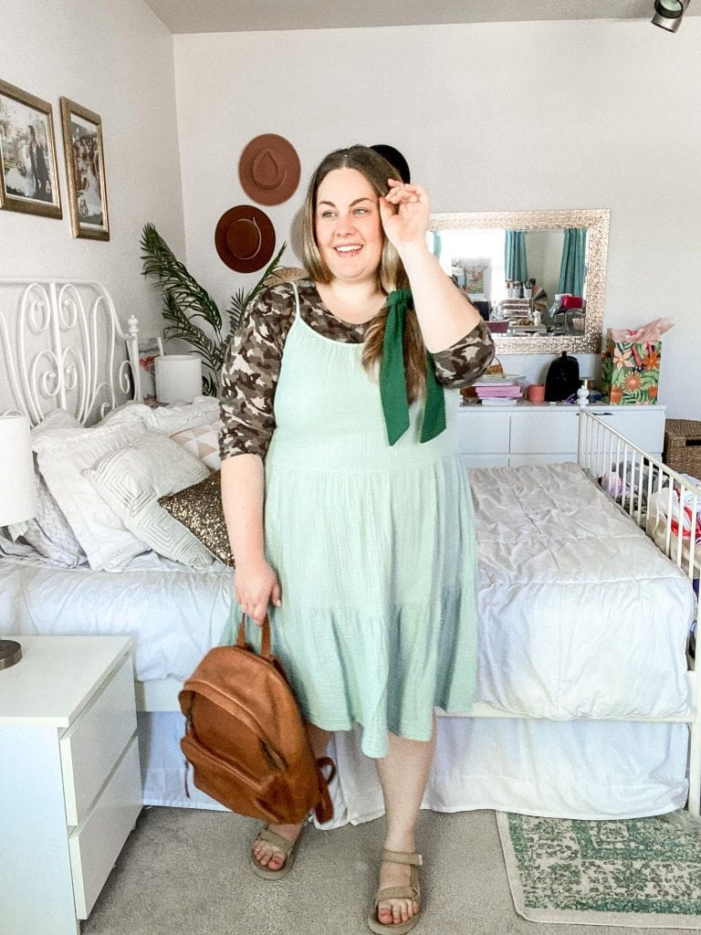 Day 8 of my 30x30 plus size fashion challenge! Come see all 30 outfits at Lauren Virginia!